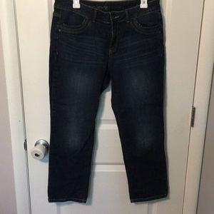 Simply Vera Vera Wang straight leg jeans size 10
